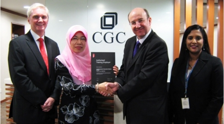 CGC recognised by ICAEW as the Authorised Training Employer